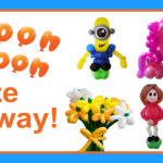 Balloon Baboon competition – Winner drawn!
