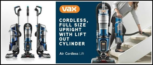 Vax Air Cordless Lift review